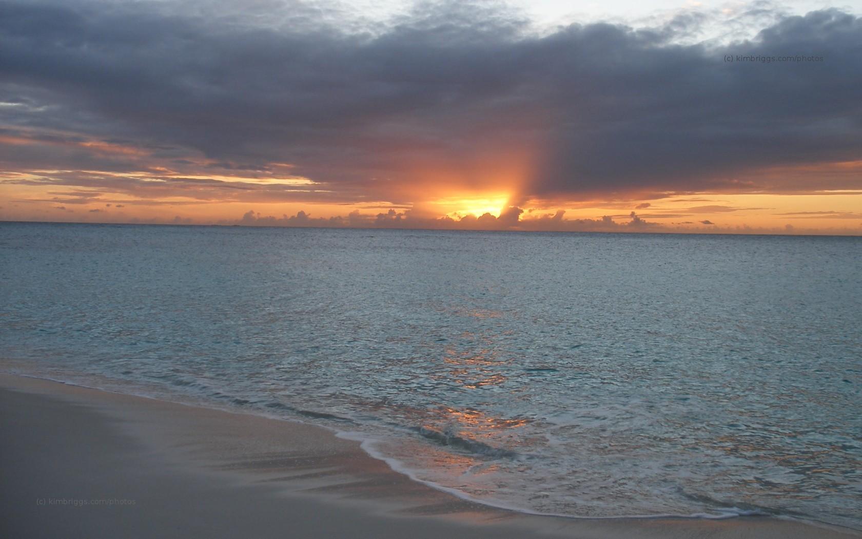 sunset ocean 7