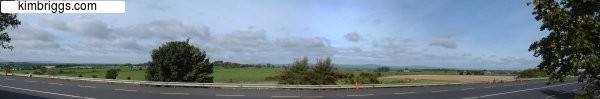 Ireland Panoramic Photo
