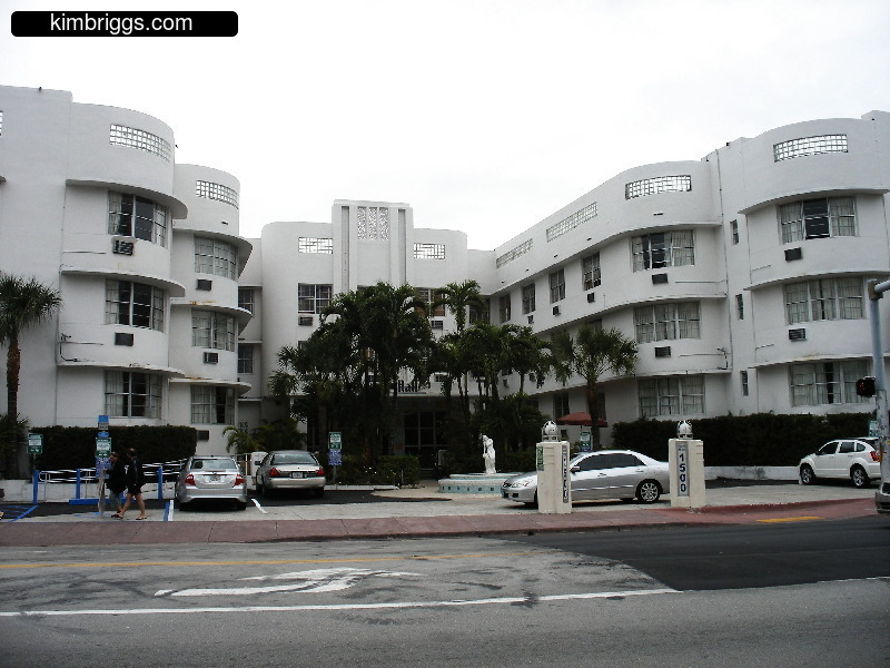 Miami Art Deco Hotels A L Kimbriggs Haddon Hall