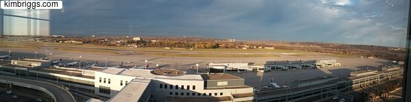 Intercontinental hotel MSP airport view