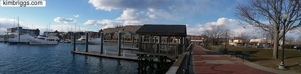 Newport RI Panoramic Photo