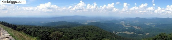 skyline drive panoramic