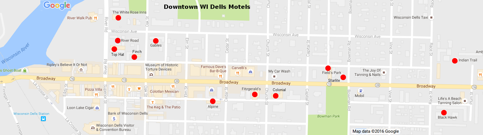 Wisconsin Dells Hotelotels