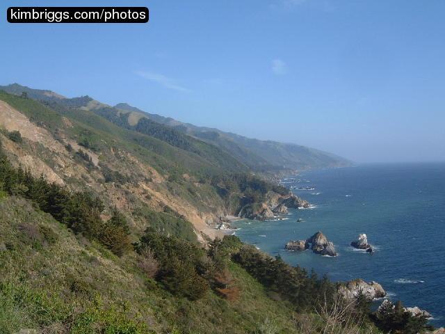 Pacific Coastal Highway Photos: California