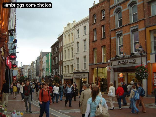 Photos of grafton street dublin ireland