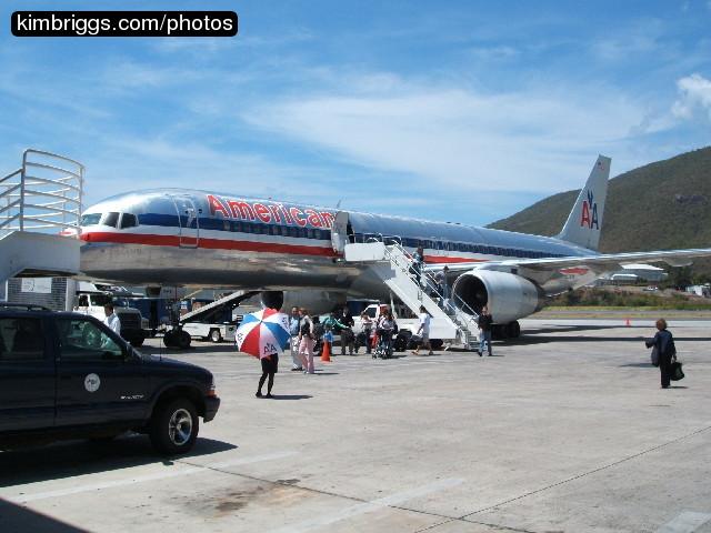 Virgin island airport photos